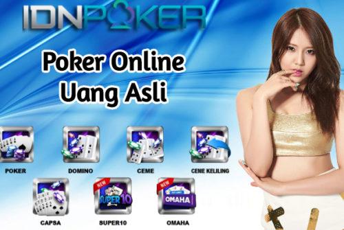 Istilah Poker Online Uang Asli Bagi Para Pemula di Situs IDN